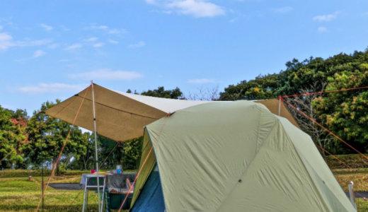 【ファミキャン最強】テント&タープはロッジシェルターがNo.1説