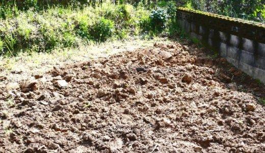 畑を作ってます!家族みんなでね、美味しい野菜作るぞ!